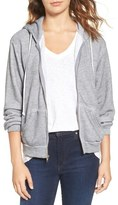 Wildfox Couture Love Story Zip Front Hoodie