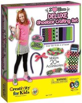 Creativity For Kids Deluxe Shoelace Crafting Set