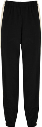 Kenzo Black nylon sweatpants