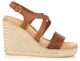 Salvatore Ferragamo Gioela espadrille wedge sandals