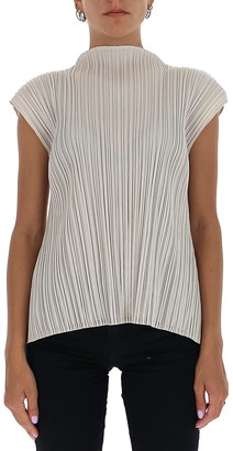 Pleats Please Issey Miyake Mellow Pleated Top