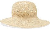 Iris and Ink Straw Panama Hat