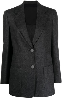 Giorgio Armani Notched-Lapel Single-Breasted Blazer