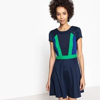 La Redoute Collections Colour Block Skater Dress