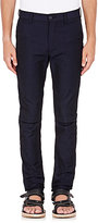 Sacai MEN'S LUXE TWILL TROUSERS-NAVY SIZE 4