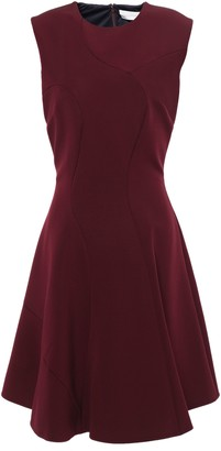 Victoria Beckham Flared Ponte Mini Dress