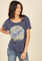 ModCloth Crane on My Parade T-Shirt in XL