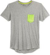 GUESS Men's Neon Heat Seal Pocket T-Shirt