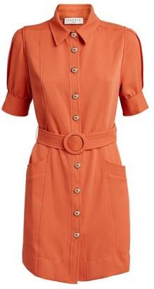 Sandro Paris Belted Mini Dress