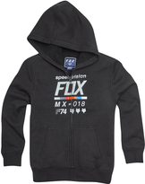 Fox Black Draftr Sherpa Fleece Zip-Up Hoodie - Boys