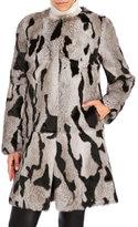 annabelle Real Rabbit Fur Coat