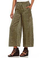 Eileen Fisher Wide Leg Cropped Pants