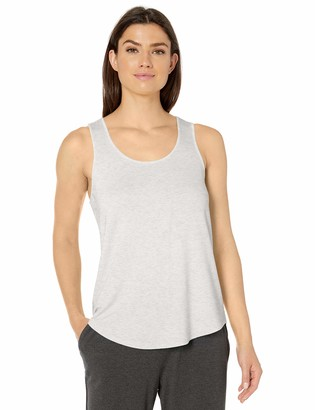 Amazon Essentials Women's Relaxed Fit Lightweight Lounge Terry Racerback Tank