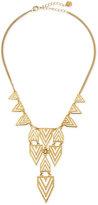 Jules Smith Designs Geometric-Print Bib Necklace, Gold