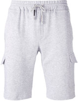 Eleventy drawstring waist track shorts - men - Cotton - L
