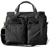 Filson Men's '24 Hour' Tin Cloth Briefcase - Black