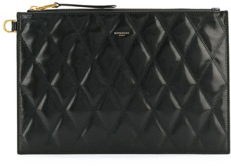 Givenchy Quilted Logo Clutch