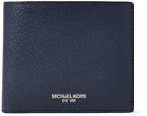 Michael Kors - Harrison Rfid-blocking Cross-grain Leather Billfold Wallet