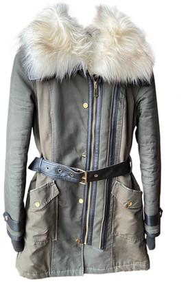 River Island Khaki Synthetic Coats