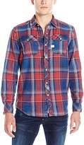 G Star Men's Landoh l Button-Down Shirt