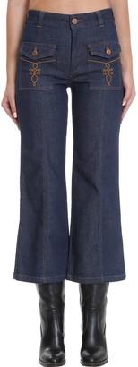 See by Chloe Jeans In Blue Denim