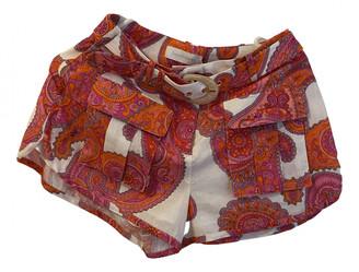Zimmermann Pink Cloth Shorts
