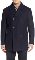 Nordstrom Classic Wool Blend Peacoat