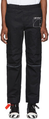 Off-White Off White Black Zip-Off Cargo Pants