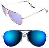 Maui Jim 'Mavericks' 61mm PolarizedPlus ® 2 Aviator Sunglasses
