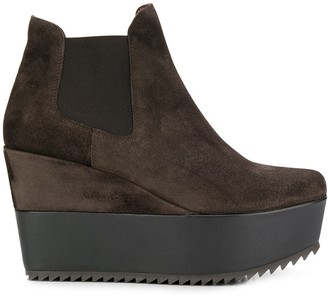 Pedro Garcia Wedged Ankle Boots