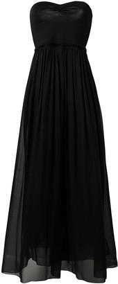 Forte Forte strapless flared dress