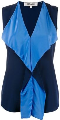 Dvf Diane Von Furstenberg Isabel ruffled blouse