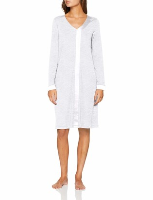 Hanro Women's Elara Long Sleeve Gown