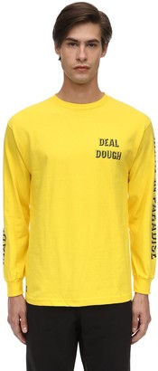 Made In Paradise Deal Dough Long Sleeve Cotton T-Shirt