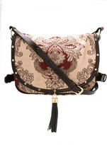 Xaa - printed cross body bag - women - Silk/Leather - One Size