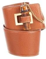 Gucci Bamboo Waist Belt