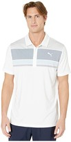 Puma Road Map Polo (Peacoat/Blue Bell) Men's Clothing