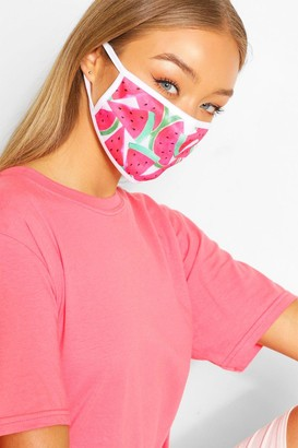 boohoo Watermelon Fashion Face Mask
