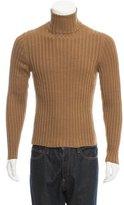 Gucci Rib Knit Turtleneck Sweater