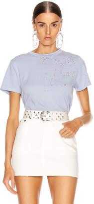 Amiri Shotgun T Shirt in Lavender | FWRD