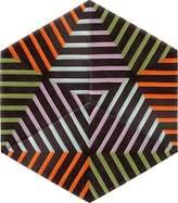 Kinder GROUND Hexagon Carpet - Thunder Zebra (3 piece Diamond)