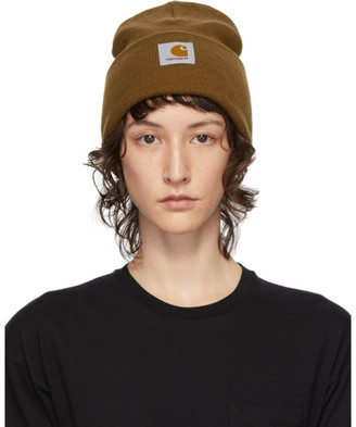 Carhartt Work In Progress Brown Watch Beanie