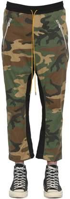 Rhude INLAY CAMO RAYON BLEND PANTS