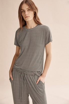 Country Road Stripe Bamboo Pyjama Top
