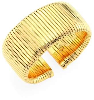Bagutta Alberto Milani Via 18K Gold Tubogas Cuff Bracelet