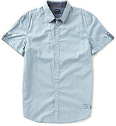 Buffalo David Bitton Saquest Printed Short-Sleeve Shirt