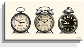 Newgate Clocks - Lambeth Time Zone Clock - 30 x 60 x 4.4cm