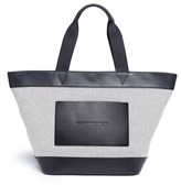 Alexander Wang Leather trim canvas tote