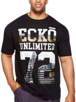 Ecko Unlimited Unltd Short Sleeve Crew Neck T-Shirt-Big and Tall