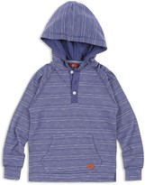 7 For All Mankind Boys' Hooded Henley